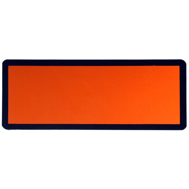 ADR Self Adhesive vehicle placard