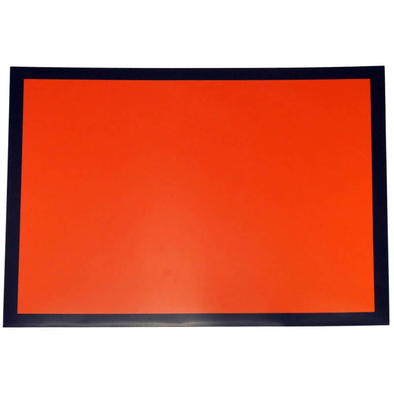 Orange Hazchem Panel 300mm x 400mm Magnetic