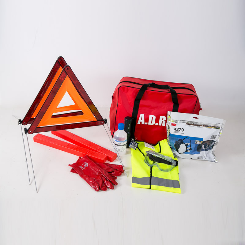 ADR Kit with Respirator Large Bag